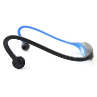 Pama Plug N Go 265 Bluetooth Sports Headset with Microphone and Remote in Blue
