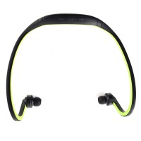 Pama Plug N Go 265 - Bluetooth Sports Headset with Microphone and Remote in Green