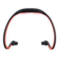 Pama Plug N Go 265 - Bluetooth Sports Headset with Microphone and Remote in Red