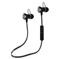 Pama Plug N Go 295 - Bluetooth stereo headset with mic/remote - black