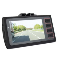 Pama Plug N Go Drive 2 - Automated Driving HD Dash Cam DVR with Front and Rear Camera