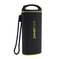 Pama Plug N Go Power 4 V2 - Portable Power Bank in Black 1.5A 5000mAh