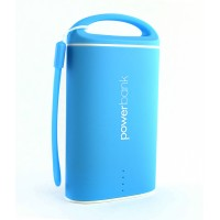 Pama Plug N Go Power 4 V3 - portable power bank in blue 2.1A 9000mAh