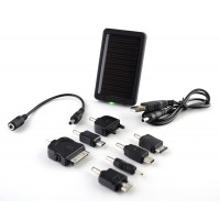 Pama Solar Charger with 7 Adaptors to Fit Multiple Devices