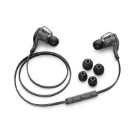 Plantronics BackBeat Go 2  wireless stereo earbuds & mic in black
