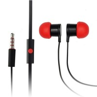 Genuine HTC stereo headset black/red - RC E295