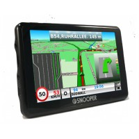 "Snooper SC5900 DVR 5 "" Sat Nav with Truckmate Extended European Mapping"