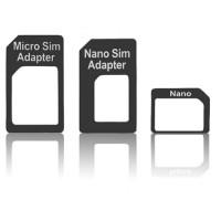 Pama sim adapter 3 pack - nano to micro - micro to standard - nano to standard
