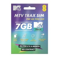MTV pay as you go trio sim ( Full, Micro,Nano ) retail pack