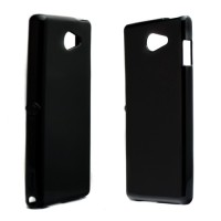 Pama TPU case in black for Sony M2 Aqua