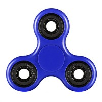 Handheld Fidget spinner in blue