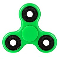 Handheld Fidget spinner in green