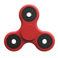 Handheld Fidget spinner in red