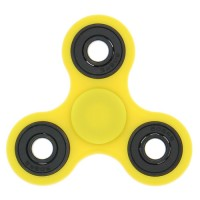 Handheld Fidget spinner in yellow