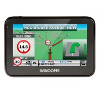 Snooper S2700 4.3 inch  sat sav pro version, with truckmate Euro mapping
