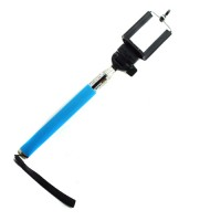 Selfie stick in blue for iOS & android