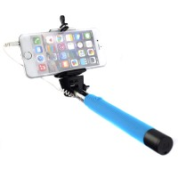Smooth Extendable Wired Selfie Stick