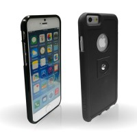 Tetrax xcase for iPhone6 in black