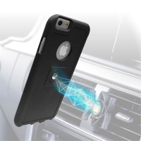 Tetrax xcase for iPhone6 plus in black