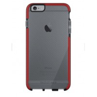 Tech21 Evo Mesh Case For iPhone6 Plus/6s Plus - Smokey/Red