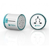 Travel Blue classic travel mains adapter - covers over 150 countries