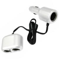 Type S triple socket 2+1 white AC52460
