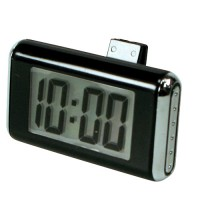 Type S Classic Digital Clock in Black