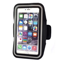 "Pama universal large arm band for iPhone6 Plus / 7 Plus / Samsung Note 3/4  5.5"" black"