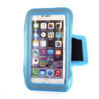 "Pama universal large arm band for iPhone6 Plus / 7 Plus / Samsung Note 3/4  5.5"" blue"