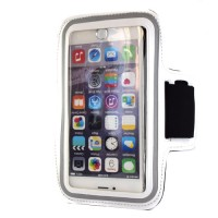"Pama universal large arm band for iPhone6 Plus / 7 Plus / Samsung Note 3/4  5.5"" white"