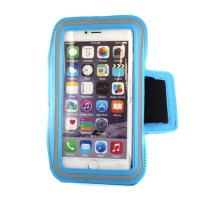 "Pama universal medium arm band for iPhone6 / 7 / Samsung S4 / 5 / 6  5"" blue"