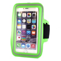 "Pama universal medium arm band for iPhone6 / 7 / Samsung S4 / 5 / 6  5"" green"