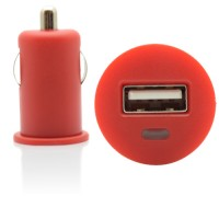 Pama universal USB in car charger red, 1 Amp
