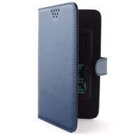Pama universal slider folio case large in blue