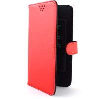 Pama universal slider folio case small in red