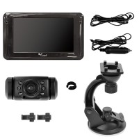 "Yada BT54860-50 Black Back Up Camera with 5"" Dash Monitor"